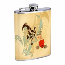 Zen Fish Em2 Flask 8oz Stainless Steel Hip Drinking Whiskey - $262,23 MXN