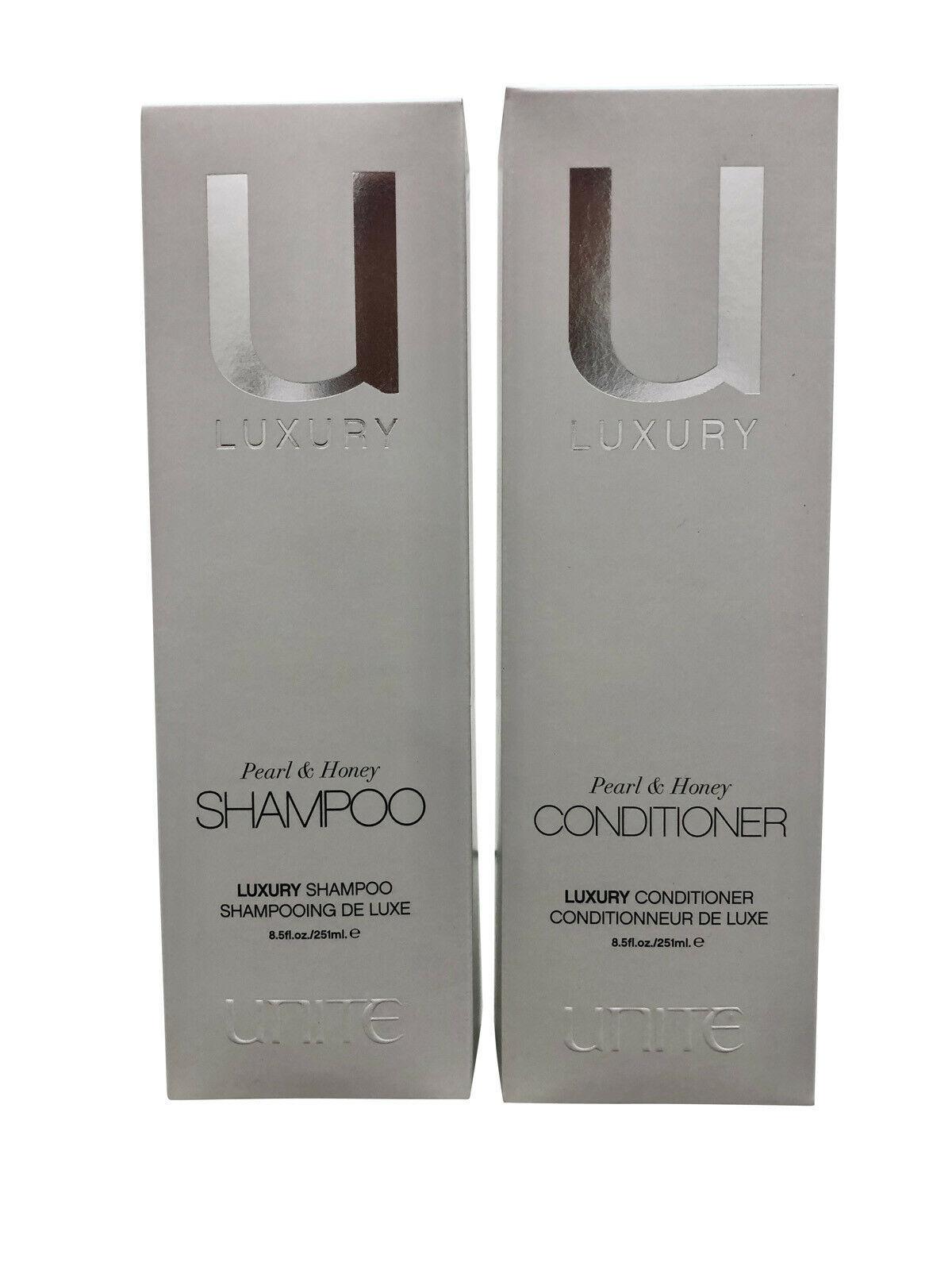 Unite Luxury Pearl & Honey Shampoo & Conditioner Set 8.5 OZ Each - $48.90