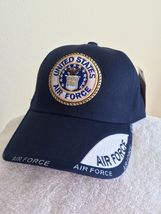 US Air Force Seal and Shadow on Blue Ball cap - $20.00
