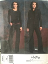 Vogue Paris Sewing Pattern 2921 Montana 6 8 10 12 Jacket Pants AA Uncut FF - $17.12
