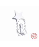 Fit Authentic pandora Charm Bracelet & Necklace 925 Sterling Silver Ori... - $18.99
