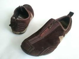 MERRELL BARRADO Upper Zip Sport Sneakers Loafer Shoes Brown Suede Womens... - $29.70