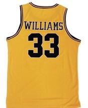 Jason Williams Dupont High School Basketball Custom Jersey Gold Any Size image 2