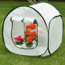 """Single Tier Green House Mini with PE Cover, 25.3""""(L) x 26.4""""(W) x 27.6""""(H) - $32.99"""