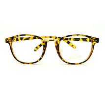 Retro Style European Designer Thin Horn Rim Eye Glasses - Tortoise - $7.95