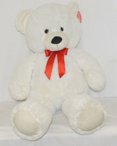 Fiewsta Toys Giant Stuffed White Cuddle Bear 38 Inches Ages 3 Plus