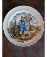HTF Vtg B&C Limoges Porcelain Plate~ Porcelaine Decor NEM France Bourgogne Wine - $29.69