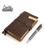 Field Notes Cover Pocket Notebook Genuine Leather With 3 Dotted Notebook... - $18.73