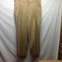 Polo by Ralph Lauren Men's Gold Cotton Dress Pants Sz 38/30