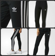 ADIDAS ORIGINALS WOMEN'S LINEAR LOGO LEGGINGS  BNWT (DIFFERENT STYLES) - $26.69