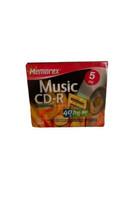 Memorex CD-r blank CDS 5 pack NEW - $11.40