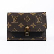Louis Vuitton 2018 Flower Compact Monogram Wallet - $660.00