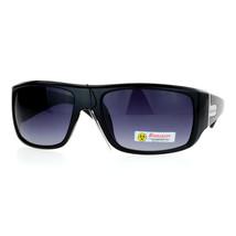 Mens Biohazard Sunglasses Designer Fashion Rectangular Frame UV 400 - $9.95