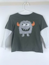 Carters Boys 24 Mo Cotton Shirt Monster Where the Wild Things Are LS Green GUC - $17.40