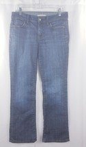 Womens Gap Stretch Blue Jeans Boot Cut Sz 8A - $15.25