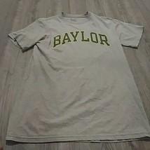 Mens Baylor Basketball Gray Short Sleeve Champion M T-shirt - $9.90