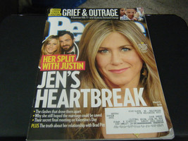 People Magazine - Jennifer Aniston Cover - March 5, 2018 - $4.20