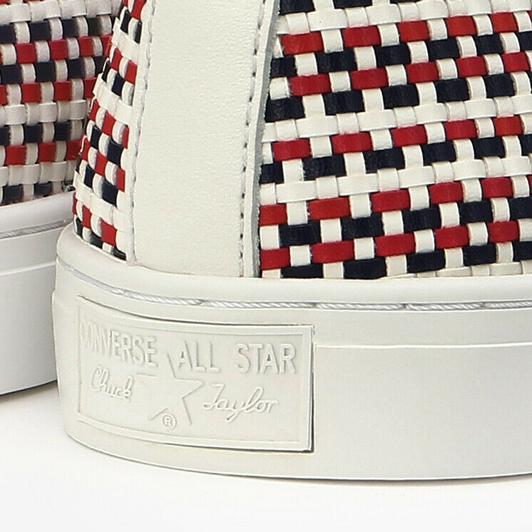 CONVERSE CHUCK TAYLOR ALL STAR COUPE WOVEN OX White Navy Red Japan Exclusive