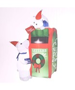 Gemmy Letters To Santa 6' Airblown Inflatable Store Display Model NEW - $98.99