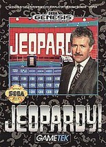 Jeopardy (Sega Genesis, 1992) CART ONLY - $4.59