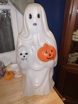 Vintage Ghost and pumpkin blow mold  - $125.00