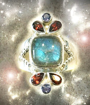 HAUNTED RING ANCIENT WIZARD'S BUILD MY EMPIRE WEALTH SUCCESS SECRET OOAK  MAGICK - $4,558.89