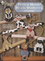 Western Style Down Home Draft Dodgers, Plastic Canvas Pattern Booklet TN... - $3.95