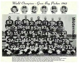 NFL 62 Green Bay Packers World Super Bowl Champions Team Pic Color 8 X 1... - $6.99