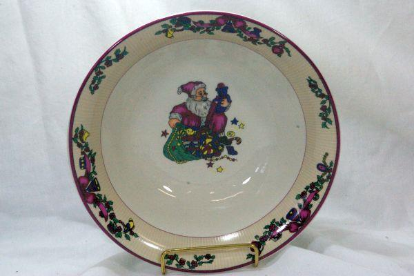Primary image for GEI Christmas Time Round Serving Bowl 9 3/8""