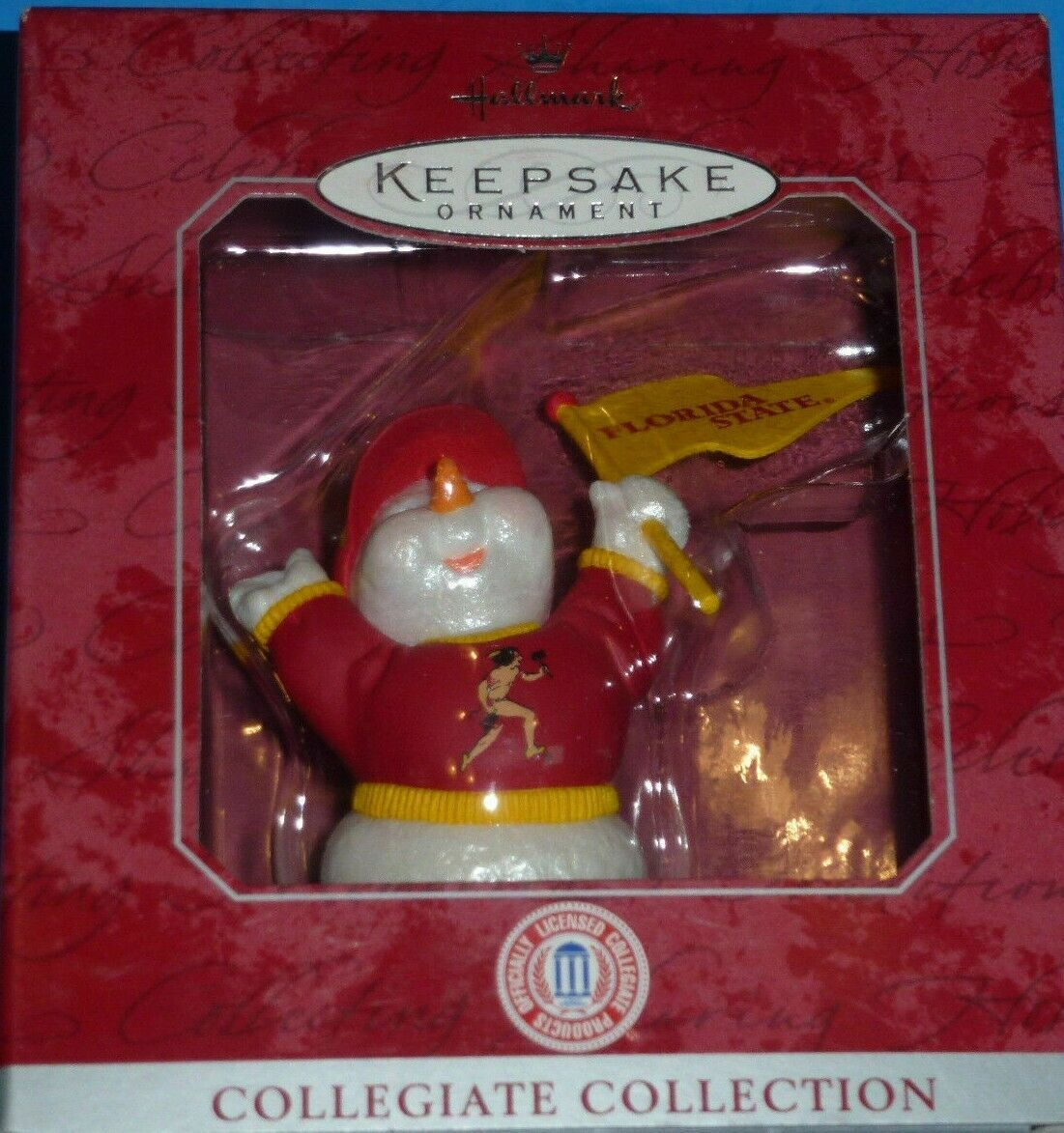 Florida State Seminoles Christmas Ornament Hallmark Keepsake Collegiate FSU NEW