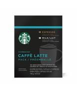 Starbucks Verismo Latte Espresso Milk Coffee Pods 16 Count Dark Roast 8 ... - $7.92