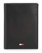 New Tommy Hilfiger Men's Credit Card ID Organizer Big Leather Wallet 31TL19X021