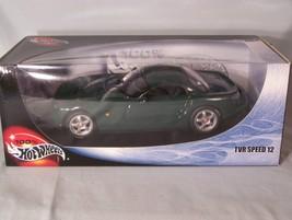 TVR Speed 12 1:18 scale diecast Hot Wheels Mattel - $40.23