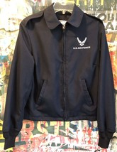 US Air Force Womens Lightweight Jacket Size 10L AF Emblem DSCP Brand - $18.70