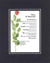 Personalized Touching and Heartfelt Poem for Anniversries - Happy XXth A... - $19.75