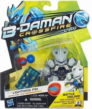 B-Daman Crossfire LIGHTNING FIN 2013 BD-02 Action Figure Blaster New HAS... - $18.71
