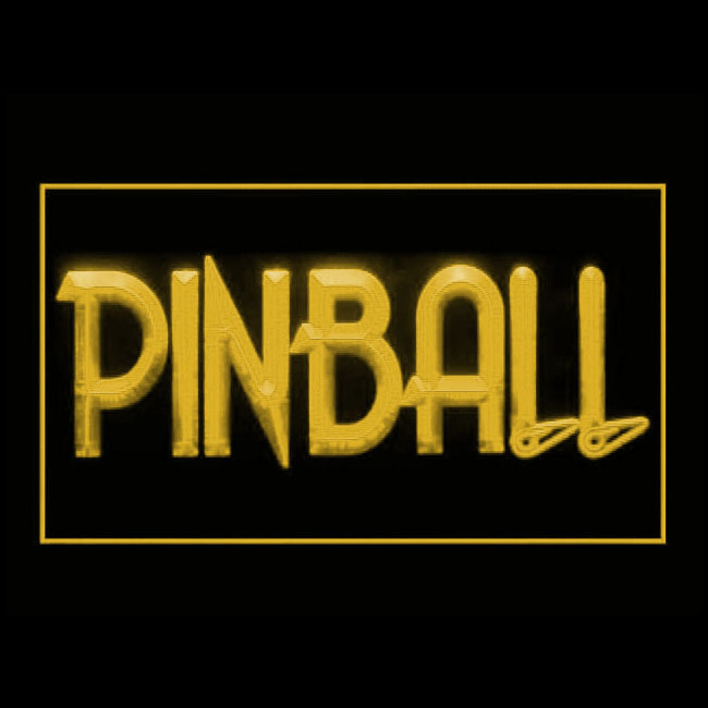 130051B Pinball Classic Available Virtue Software Unusual Design LED Light Sign - $18.00