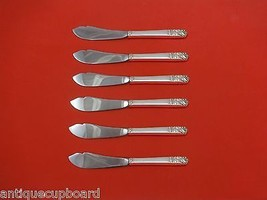 """Mansion House by Oneida Sterling Silver Trout Knife Set 6pc. HHWS  Custom 7 1/2"""" - $358.25"""