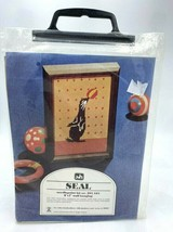 NEW Valley Handcrafters Seal Needlepoint Kit 301 421 Vintage - $12.99
