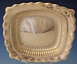 Whiting Sterling Silver Bowl with Applied Frog, Snail, Branch & Lily Pads #0037 - $2,250.00