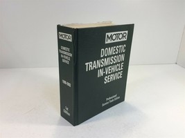 1998-2002 MOTOR Domestic Transmission In-Vehicle Service 1st Edition - $79.99