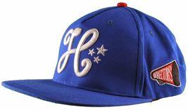 Cousins SportsWear Men's Hollywood Directors Leather Strapback Baseball Hat NWT image 8