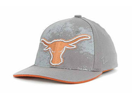 TEXAS LONGHORNS - ZEPHYR EPICENTER NCAA STRETCH FIT CAP/HAT- SIZE SMALL - $18.04