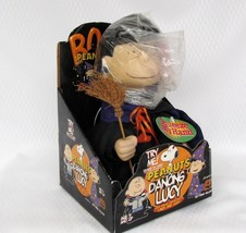 Dancing Lucy Peanuts Musical Animated Witch Halloween NOS - $22.50