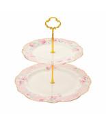 Disney store Aristocats Marie Cake stand Dessert plate Cat Day 2020 pink... - $68.31