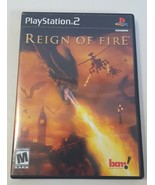 Reign of Fire - PlayStation 2 PS2 Video Game Black Label BL CIB Complete - $10.88