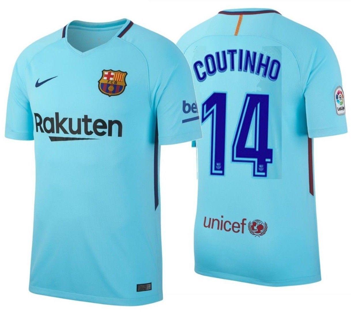 faa547141 Nike Philippe Coutinho Fc Barcelona Away and 38 similar items. 57