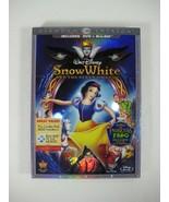 Snow White Disney Animated Classic #1: Blu-Ray + DVD & BONUS MOVIE (3 Di... - $28.33