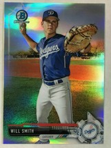 Will Smith RC 2017 Bowman Chrome REFRACTOR ROOKIE#BDC116 PSA10?Dodgers C RC - $39.59