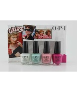 Hot!! OPI Grease Collection Summer 2018 Nail Lacquer Mini Set of 4 - $14.48